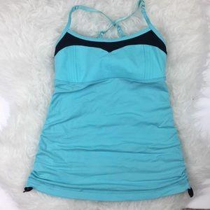 ☀️ 2 for $20 ☀️ Lululemon angel blue yoga top sz 4